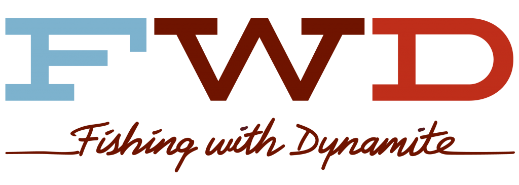 Fishing With Dynamite Monogram Slab Logo