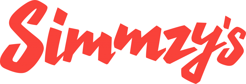 Simmzy's Logo in Red