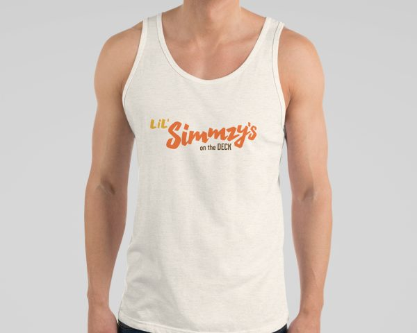 Lil Simmzy's on the Deck Unisex Tank Top