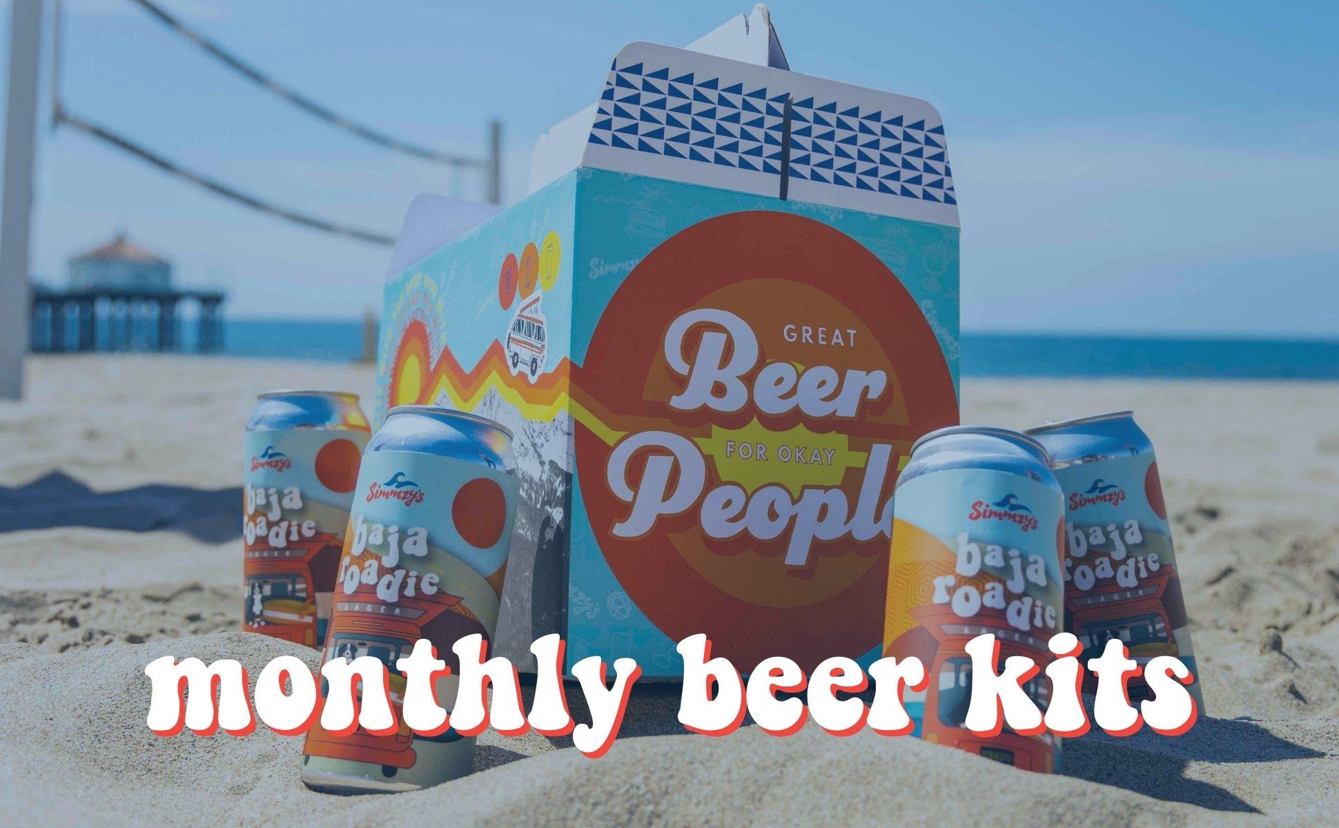 Simmzy's Beer Club - Monthly Beer Kits